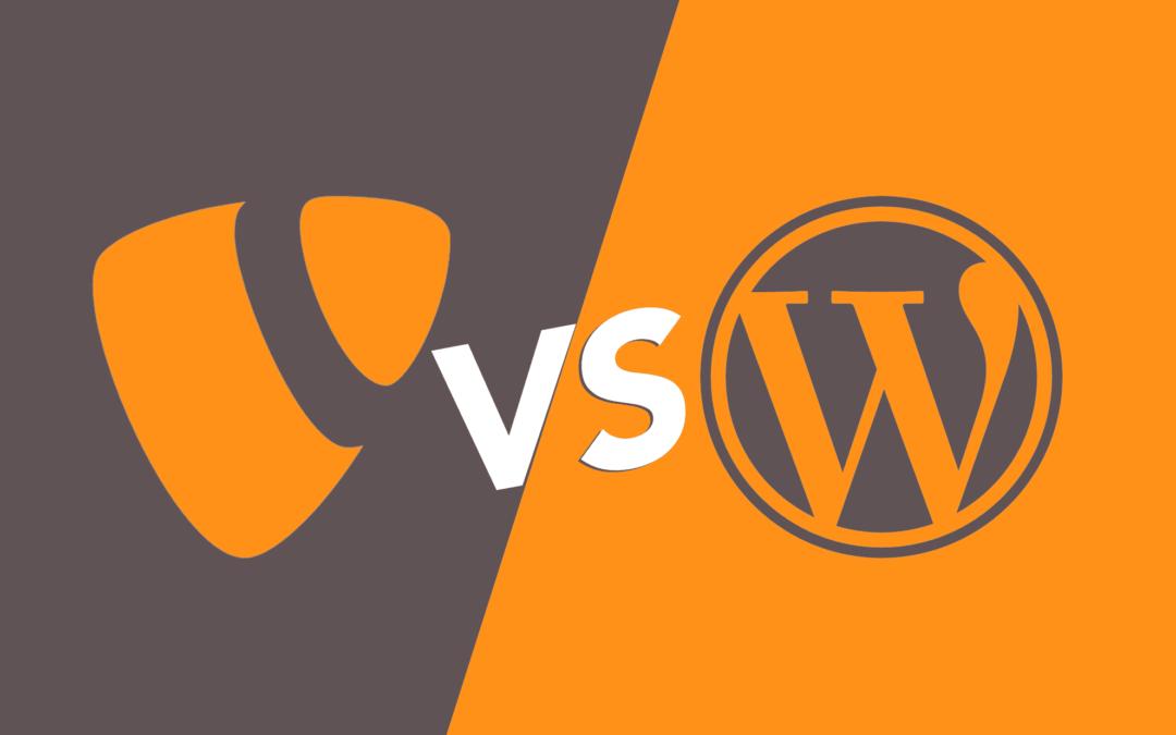 TYPO3 vs. WordPress – Welches ist das bessere CMS für unsere Website?